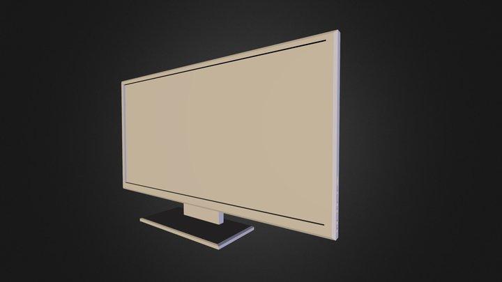 TV-Untextured 3D Model