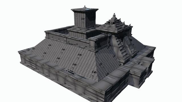 Candi Cetho ( Model A ) 3D Model