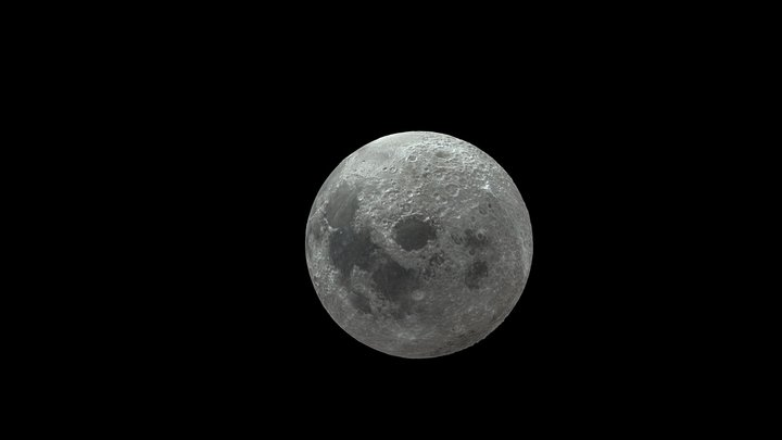 Moon-Blend 3D Model