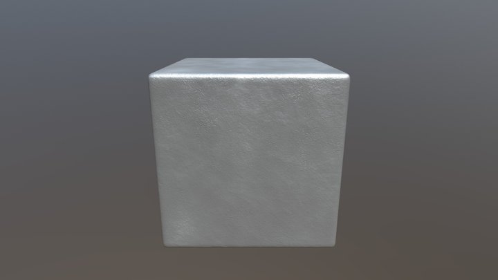 Steel texture with irregularities 3D Model