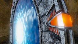SG-1 Stargate 3D Model