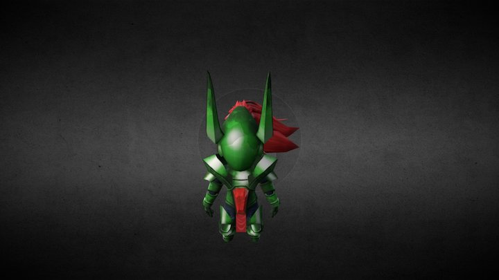Capricorn Knight 3D Model