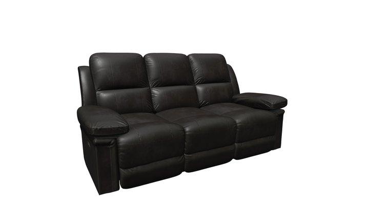 Julia Dark Gray Power Motion Sofa 3D Model
