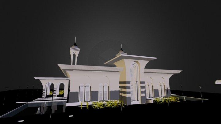 AL BRIR MASJED / SUDAN 3D Model