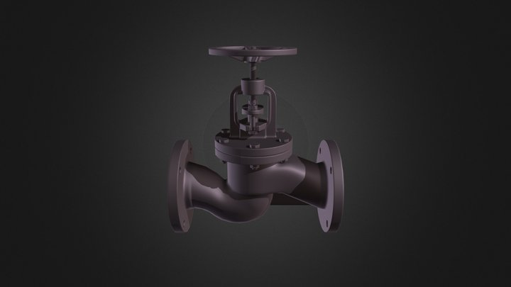 valve_baked 3D Model