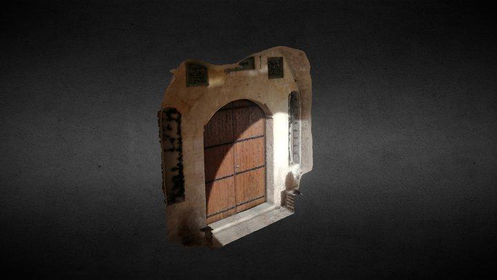 Artuklu Mimarlık Fakültesi Kapısı 3D Model