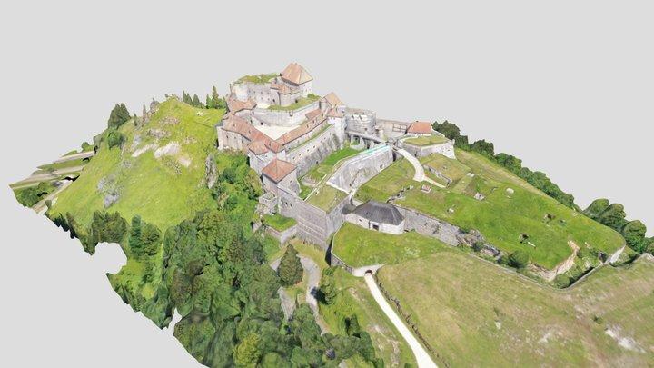 Fort de Joux 3D Model
