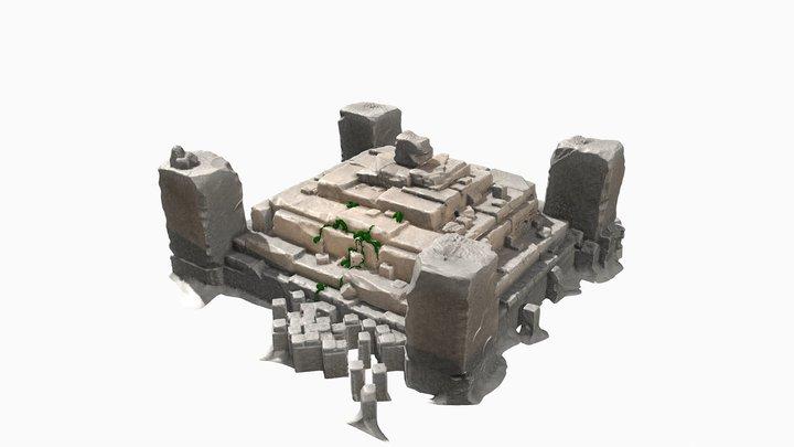 Sculpt January | Day 21 Ancient 3D Model