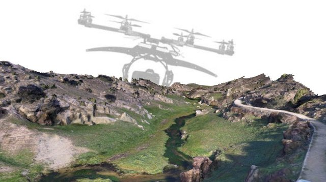 Ribera fluvial 3D Model