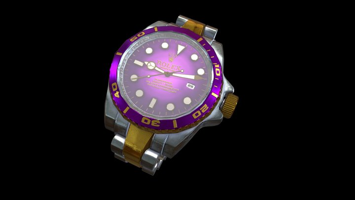 Rolex Watch Prop 3D Model