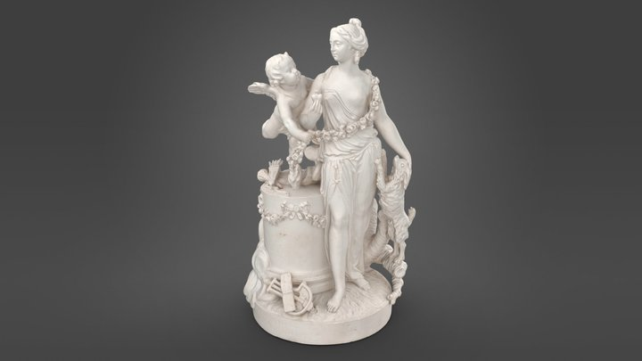 Love and faithfulness 3D Model