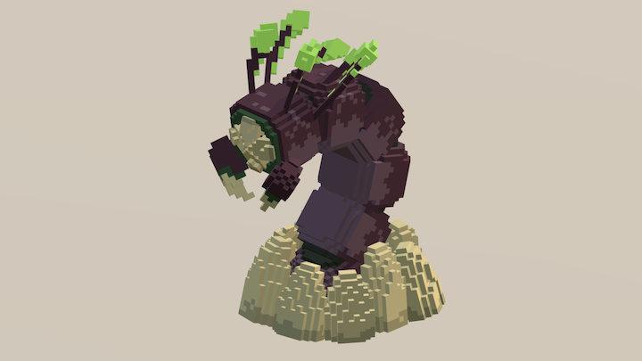 Wurm 3D Model