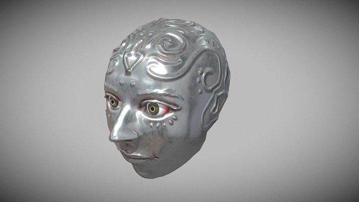 creepy head 3D Model