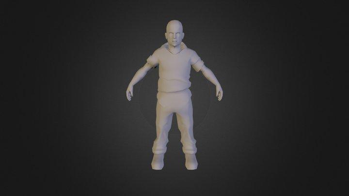 Jimmy Hopkins c4d 3D Model
