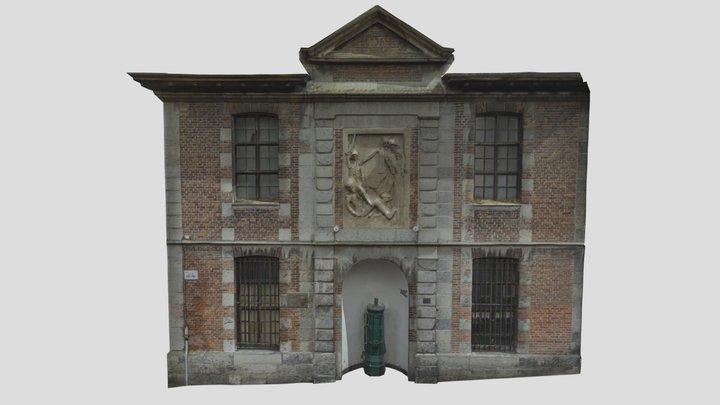 Musée de folklore - façade - Fcgc_low1 3D Model