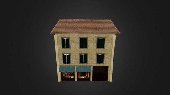 Clothes Store 3D Model