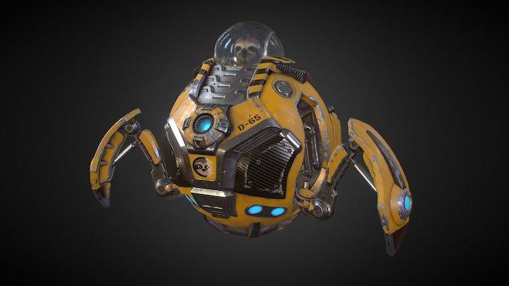 DOGGO 3000 3D Model