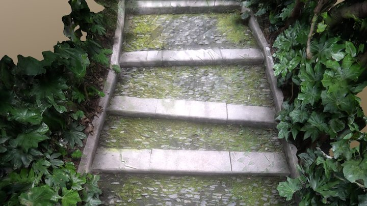 Stone Step 3D Model