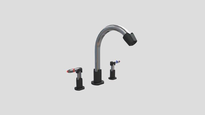 Futuristic Faucet 3D Model