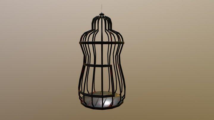 Bird Cage Low 3D Model