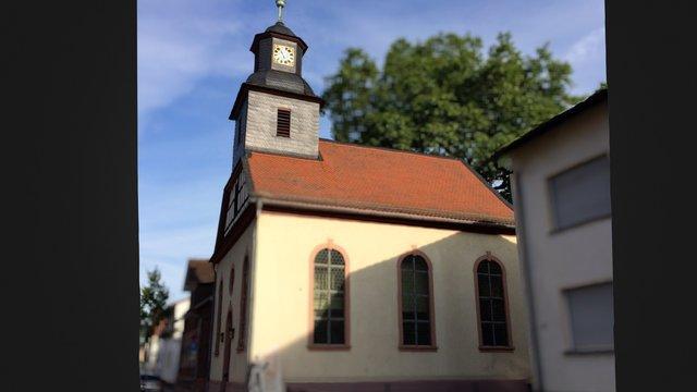 Little Church in Mörfelden-Walldorf, Germany 3D Model