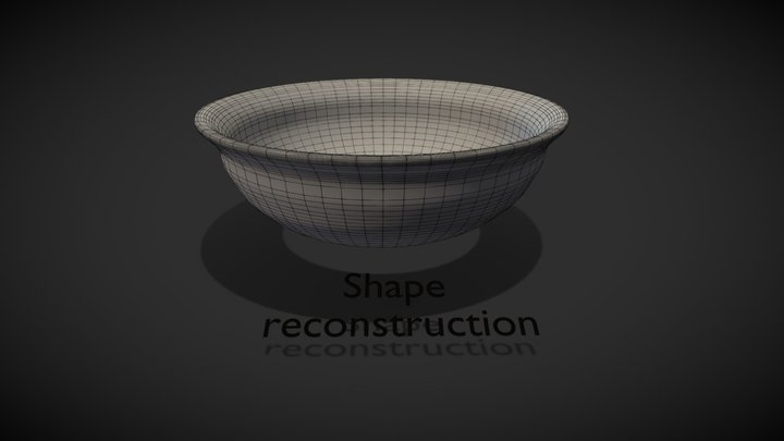 step-by-step reconstruction process 3D Model