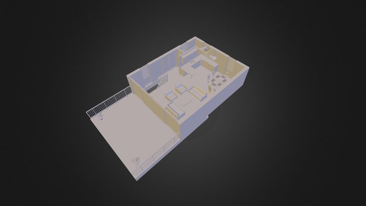 Ground Floor 3D Model