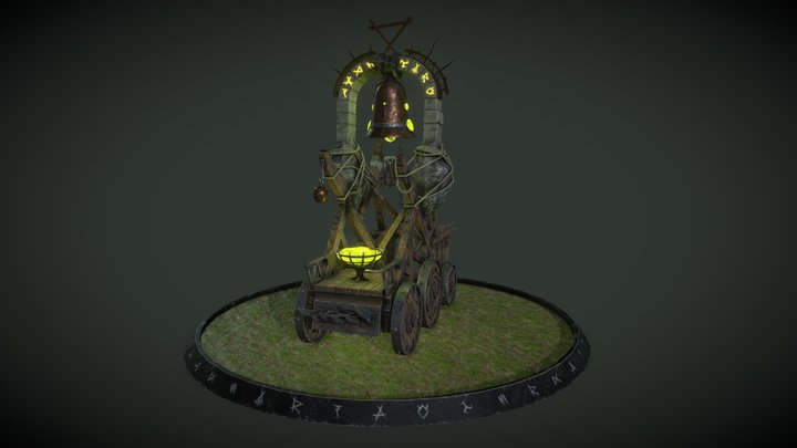 Screaming Bell (Warhammer Fantasy) 3D Model