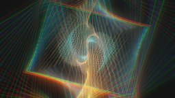 Paradox Abstract Art of Python 3D Model