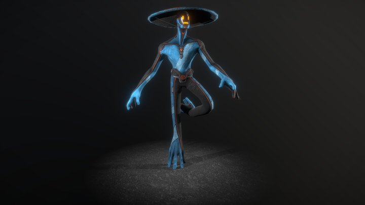 The Scarecrow 3D Model