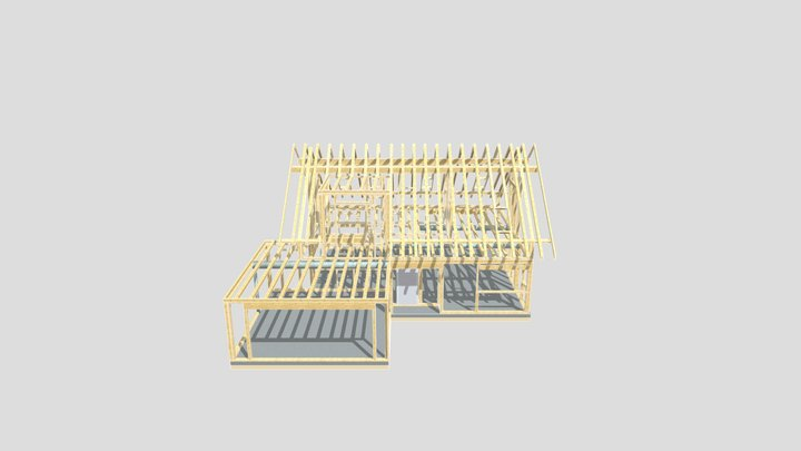 Z320 Konstrukcja 3D Model
