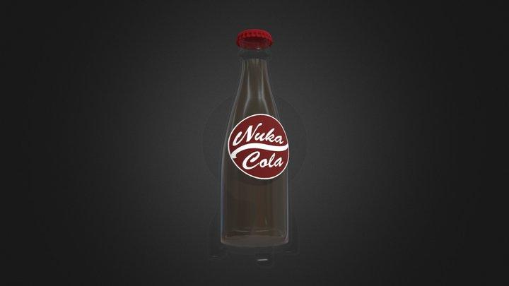 Nuka Cola Bottle 3D Model
