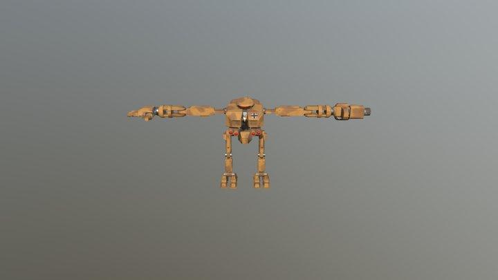 DAE Bot 3D Model