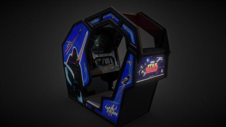 Starwars Arcade Deluxe 1983 3D Model