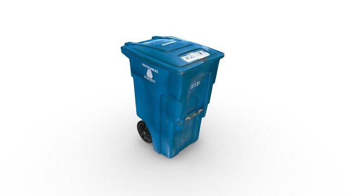 Recycling Bin 3D Model