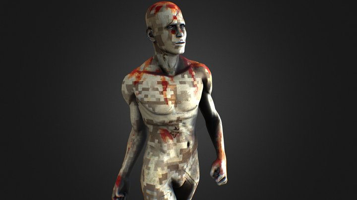 Synthetic Soldier 3D Model