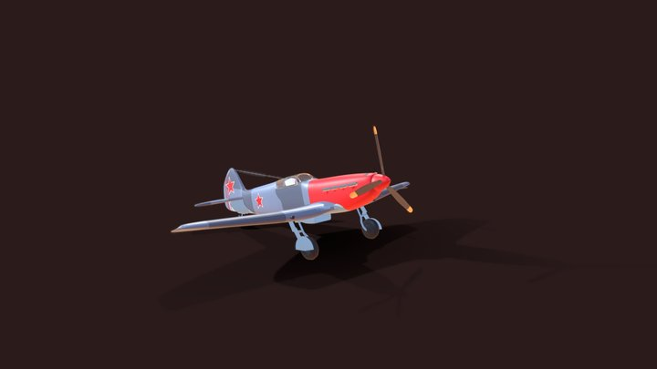 Yakolev 3 (Free Download) 3D Model