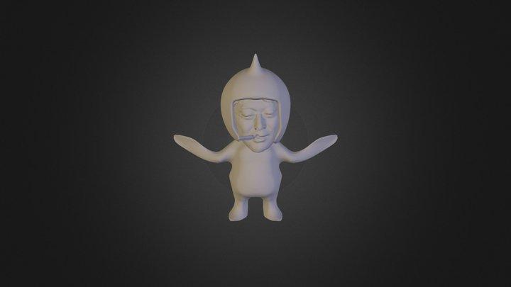 マサヤン小人 3D Model