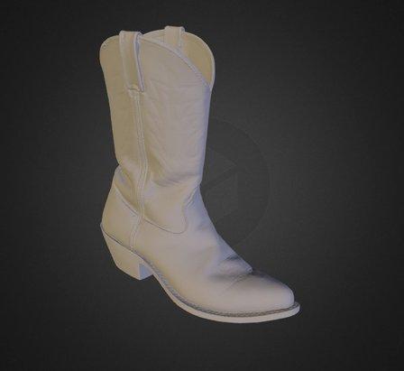 Cowboy Boot 3D Model