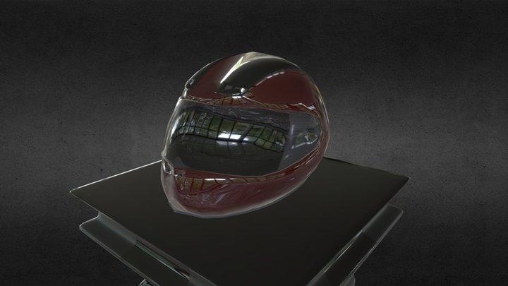 Random Motorbike Helmet 3D Model