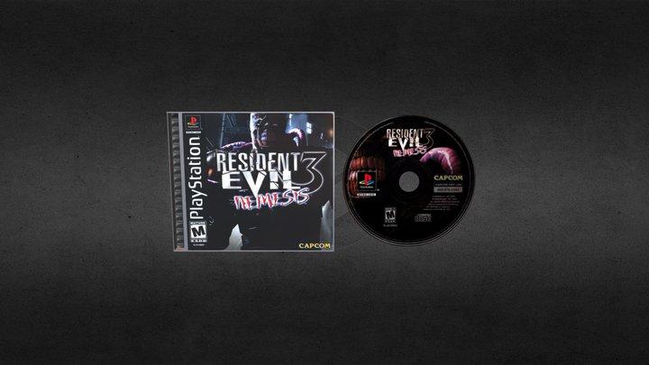 PSONE Resident Evil 3 Nemesis (NTSC) 3D Model