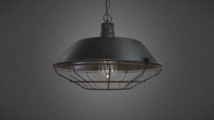 Retro ceiling light 3D Model