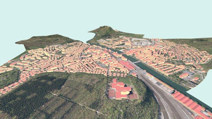 3D-Modell von Olten 3D Model