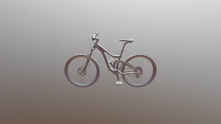 Mountain Bike Model 3D Model