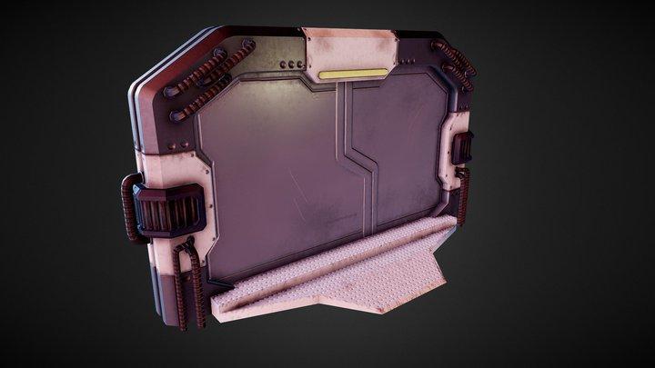 Scifi-Door 3D Model