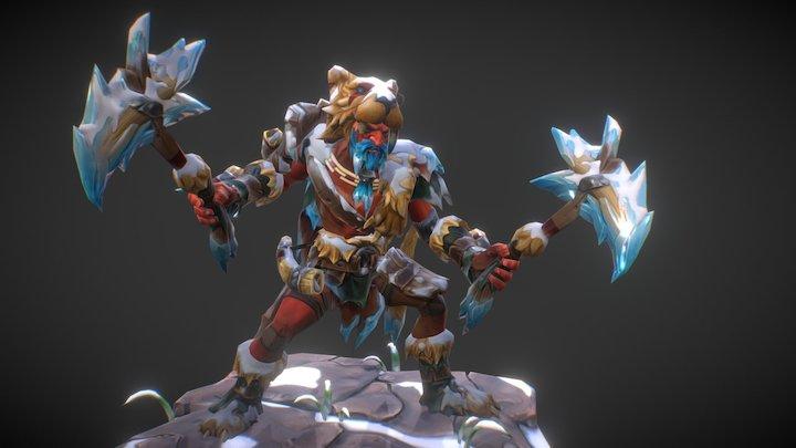 Wildheart - Troll Warlord set 3D Model