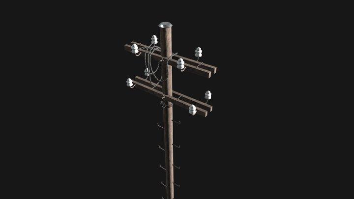 pole electric 3D Model