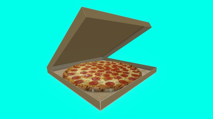 PIZZA :D 3D Model