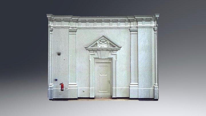 Fassadenausschnitt 3D Model