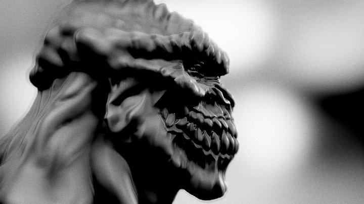 Evil smile 3D Model
